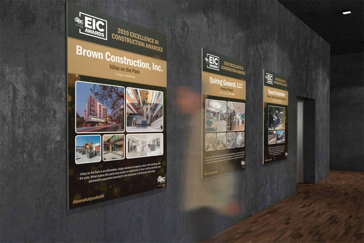 ABC Nor Cal EIC Awards Winners Posters