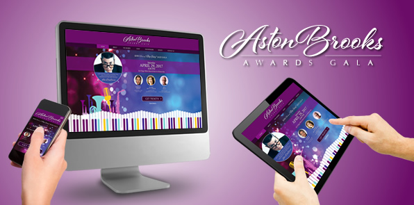 Aston Brooks Gala Website