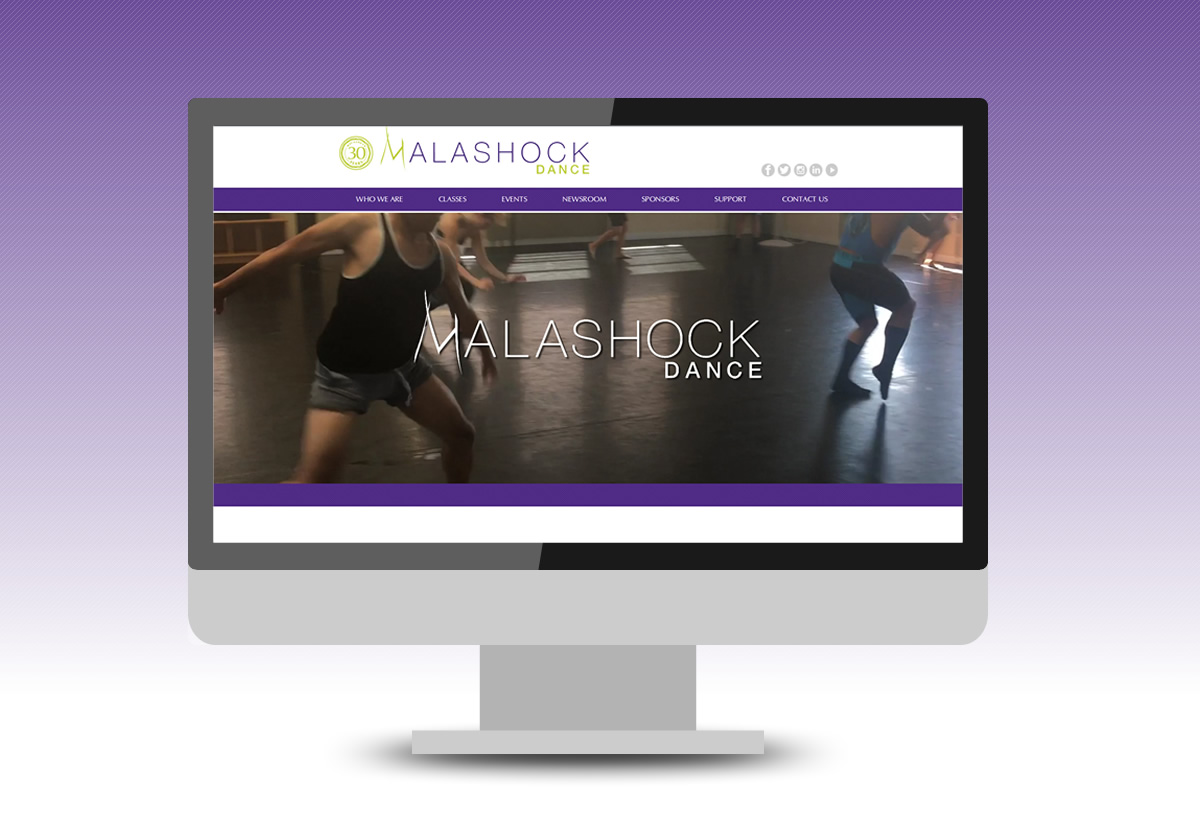 Mance Creative Launches the New Malashock Dance Website