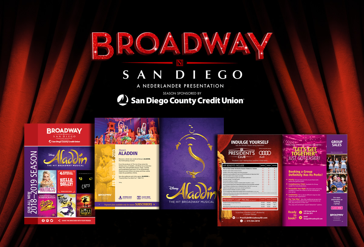 Broadway San Diego's 2018-2019 Season Announced!