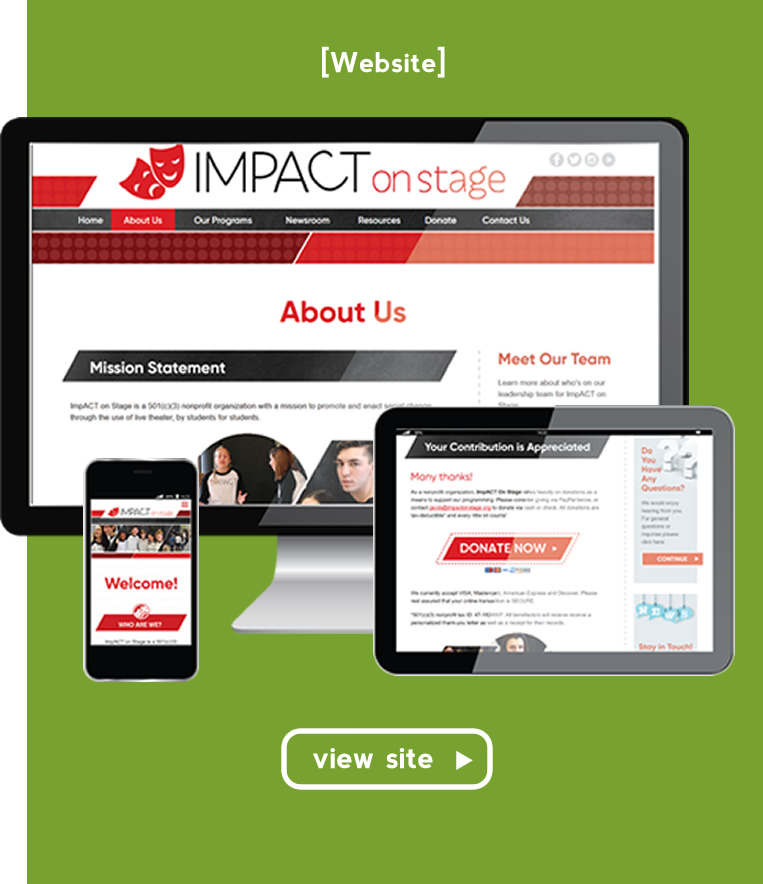 Impact On Stage - Mance Creative | Creative and Graphic