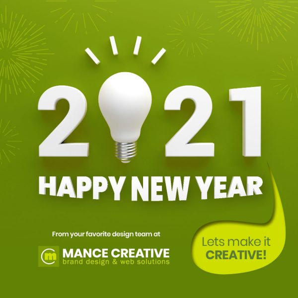 Happy New Year From Mance Creative